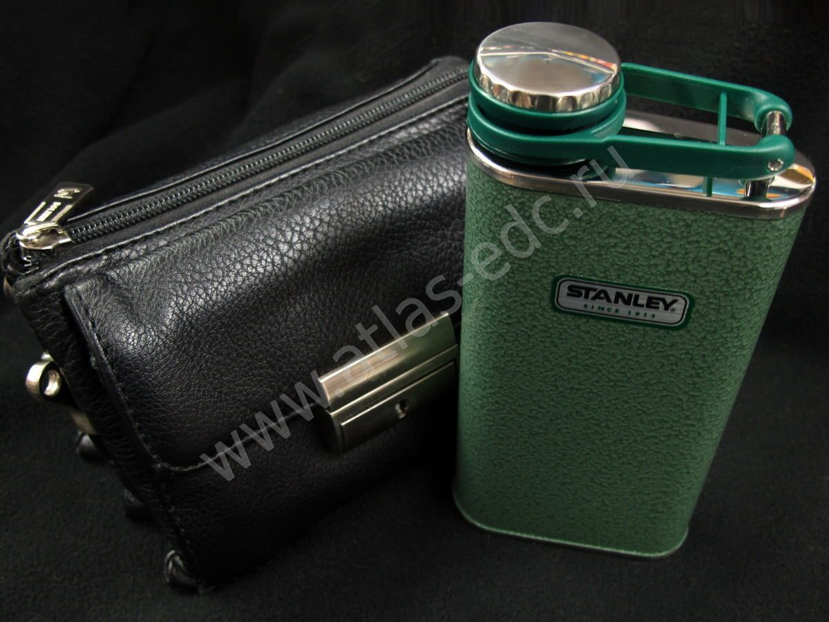 Фляжка STANLEY 10-00837-051 Classic Pocket Flask 0,23л. зеленый